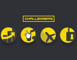 #51 for Design Logos for the Four Verticals of Challengers Event by jesusagreda