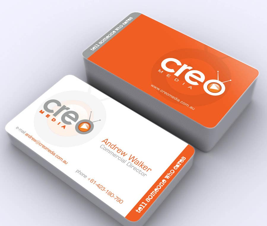 Contest Entry #                                        69                                      for                                         Design some Business Cards for Creo Media