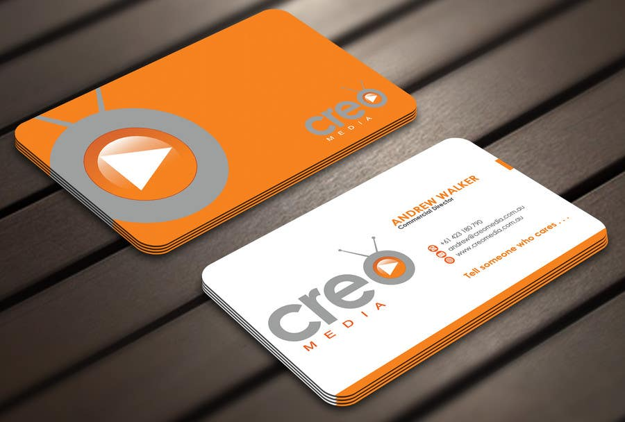 Contest Entry #                                        71                                      for                                         Design some Business Cards for Creo Media