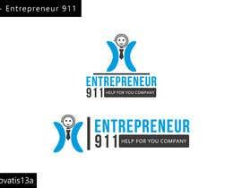 #67 untuk Design a Logo for E N T R E P R E N E U R 9 1 1 oleh Renovatis13a