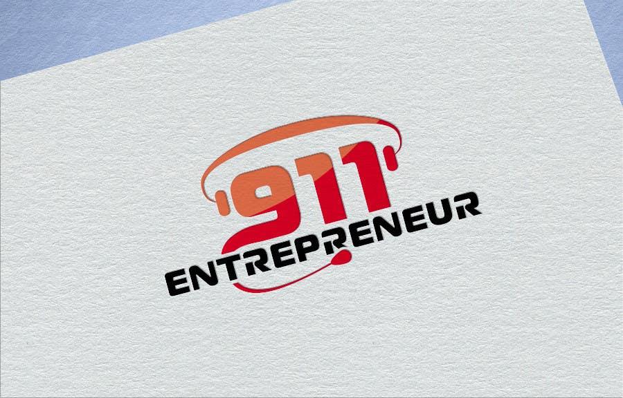 Penyertaan Peraduan #24 untuk Design a Logo for E N T R E P R E N E U R 9 1 1
