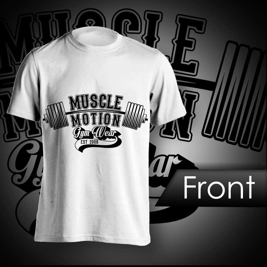 Konkurrenceindlæg #                                        17                                      for                                         Design a T-Shirt for Mens Gym Wear.