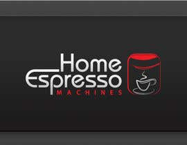 nº 83 pour Design a Logo for home espresso machines par logoforwin