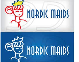 #3 for Design a Logo for Nordic Maids af ntandodlodlo