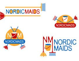 #10 for Design a Logo for Nordic Maids af rogerweikers