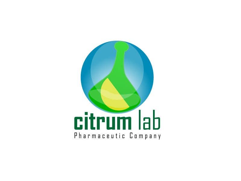 Bài tham dự cuộc thi #156 cho Design a Logo for pharmaceutic company called Citrum Lab