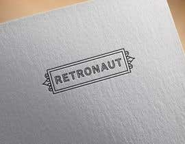 #110 untuk Design a Logo and websitedesign for Retronaut oleh notaly