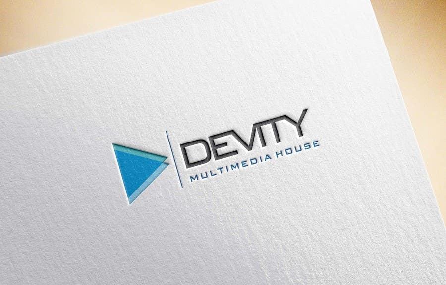 Proposition n°                                        32                                      du concours                                         Logo design for devity multimedia house