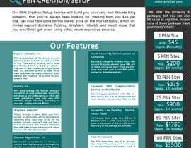 #11 untuk Design an Advertisement for an SEO-related Service (PBN Creation/Setup Service) oleh ashwinanand84