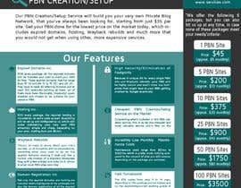 #12 cho Design an Advertisement for an SEO-related Service (PBN Creation/Setup Service) bởi ashwinanand84