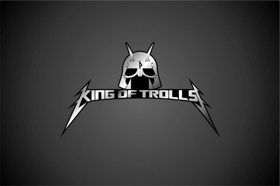 Konkurrenceindlæg #                                        35                                      for                                         Design en logo for the band:  King of Trolls