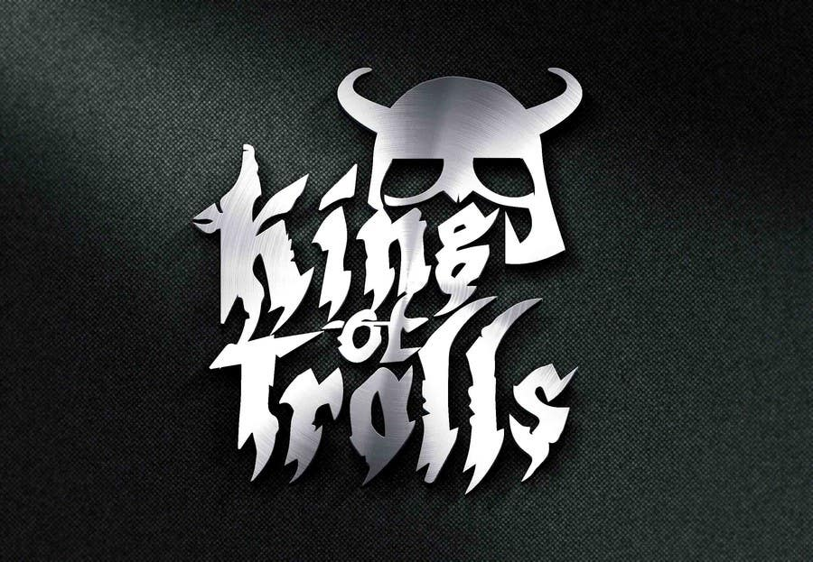 Konkurrenceindlæg #                                        37                                      for                                         Design en logo for the band:  King of Trolls