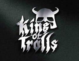 #37 for Design en logo for the band:  King of Trolls af muhhusniaziz