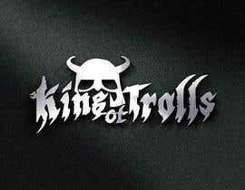 #38 for Design en logo for the band:  King of Trolls af muhhusniaziz