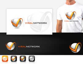 #239 para Logo Design for Viral Network Inc - Banner design, Graphic design, Social Button Design de pinky