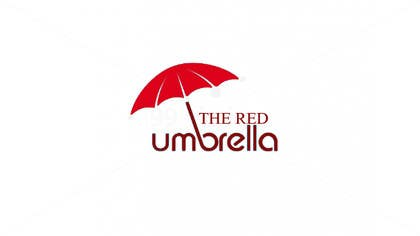 #10 for Design a Logo for The Red Umbrella - A Vegetarian Food Truck af superstyle