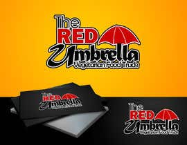 #67 cho Design a Logo for The Red Umbrella - A Vegetarian Food Truck bởi tiagogoncalves96