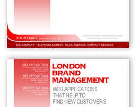 #37 per Business Card Design for London Brand Management da sreekanthize