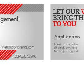 #38 untuk Business Card Design for London Brand Management oleh SykesDesign