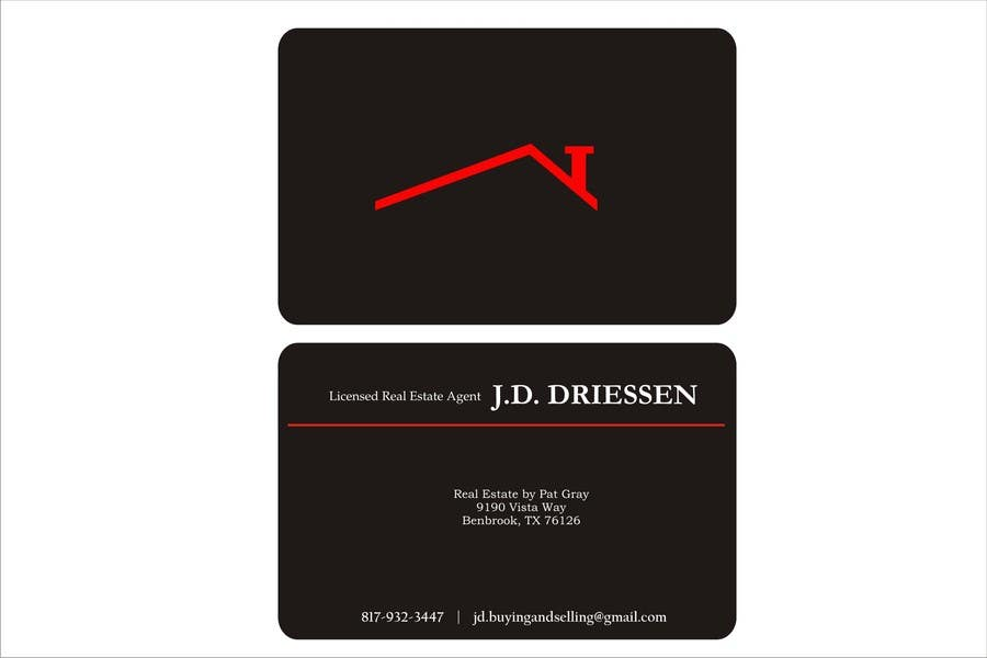 Bài tham dự cuộc thi #                                        47                                      cho                                         Design a Creative Business Card for Realtor