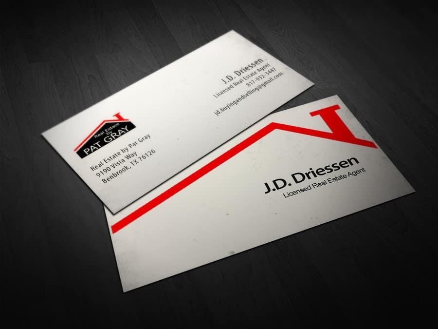 Bài tham dự cuộc thi #                                        3                                      cho                                         Design a Creative Business Card for Realtor