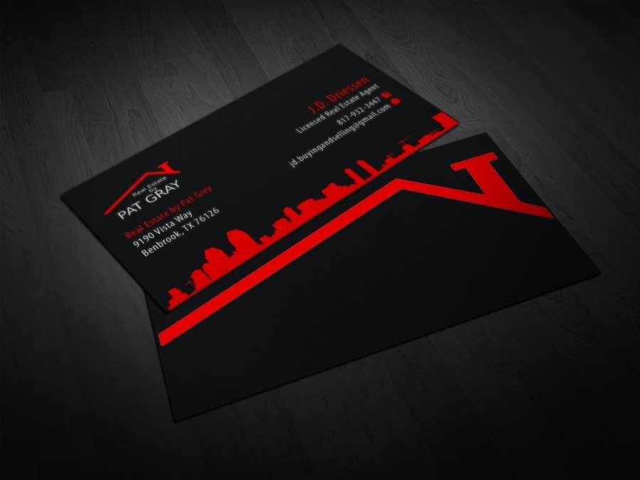Bài tham dự cuộc thi #                                        25                                      cho                                         Design a Creative Business Card for Realtor