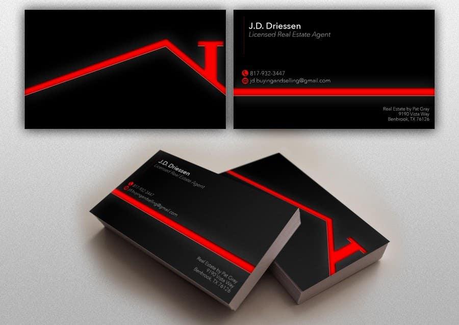 Bài tham dự cuộc thi #                                        38                                      cho                                         Design a Creative Business Card for Realtor