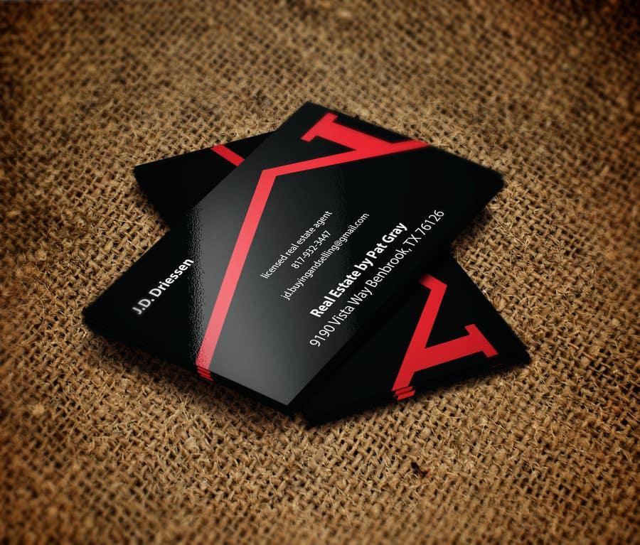 Bài tham dự cuộc thi #                                        13                                      cho                                         Design a Creative Business Card for Realtor