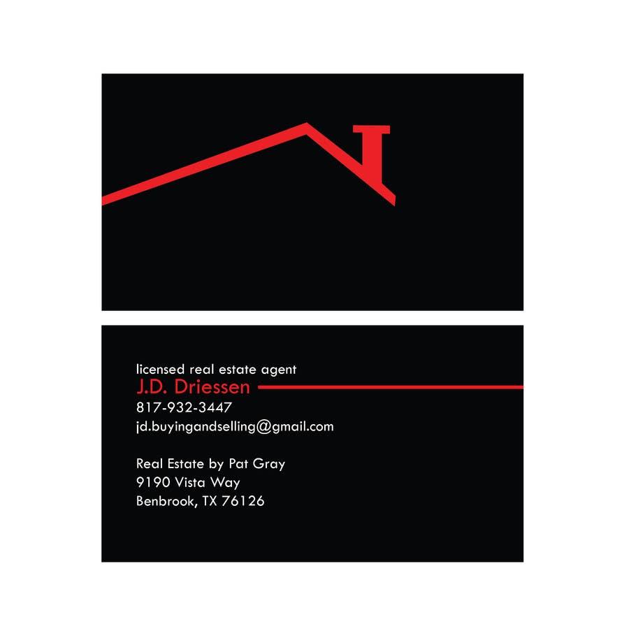 Bài tham dự cuộc thi #                                        20                                      cho                                         Design a Creative Business Card for Realtor