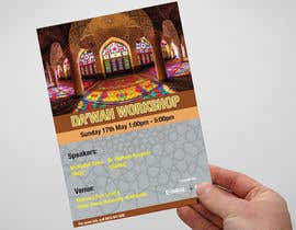 "nº 36 pour ""Da'wah Workshop"" - Islamic Flyer par adnandesign043"