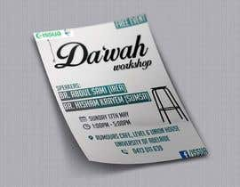 "nº 44 pour ""Da'wah Workshop"" - Islamic Flyer par sultansadiq"