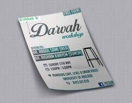 "nº 45 pour ""Da'wah Workshop"" - Islamic Flyer par sultansadiq"