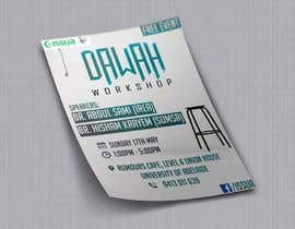 "nº 46 pour ""Da'wah Workshop"" - Islamic Flyer par sultansadiq"