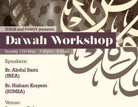 "nº 26 pour ""Da'wah Workshop"" - Islamic Flyer par alromisa"