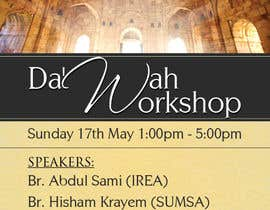 "#35 cho ""Da'wah Workshop"" - Islamic Flyer bởi teAmGrafic"