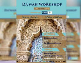 "nº 31 pour ""Da'wah Workshop"" - Islamic Flyer par HebaWadud"