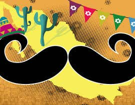 #66 para Draw The moustache! The crazy mexican contest! por graphula