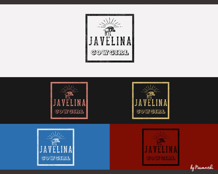 Contest Entry #                                        112                                      for                                         Design a Logo for Javelina Cowgirl (Online Shop)