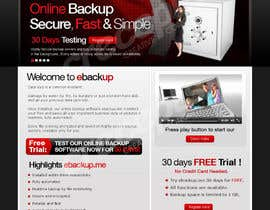 #45 pentru Website Design for Ebackup.me Online Backup Solution de către crecepts
