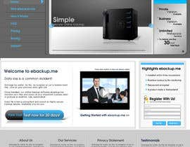 #21 for Website Design for Ebackup.me Online Backup Solution by vectorstudios
