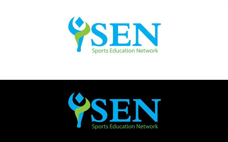 "Bài tham dự cuộc thi #                                        49                                      cho                                         Design a Logo for company name ""Sports Education Network"", in short SEN."