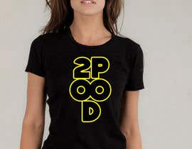Nro 3 kilpailuun Design a Logo for a 2POOD shirt käyttäjältä robertlopezjr