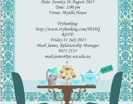 #17 para High Tea Invitation por thoughtcafe