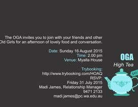 #18 para High Tea Invitation por thoughtcafe