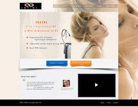 nº 18 pour Build a Website for a new revolutionary cosmetic treatment par anoop9785