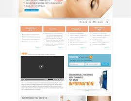 #27 untuk Build a Website for a new revolutionary cosmetic treatment oleh logoforwin