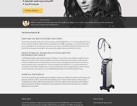 #10 untuk Build a Website for a new revolutionary cosmetic treatment oleh danangm