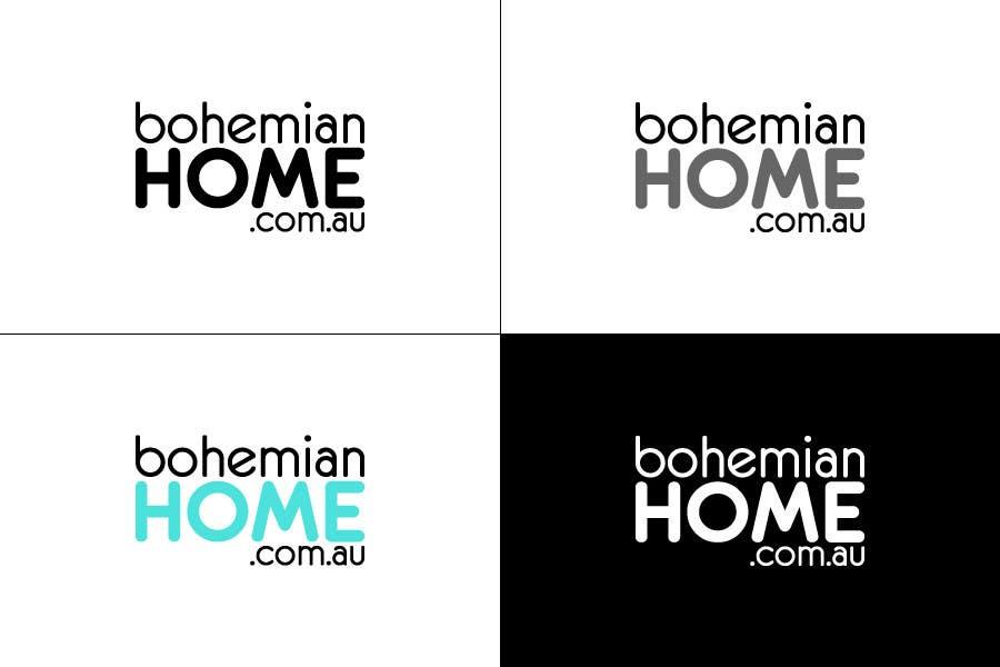 Proposition n°                                        73                                      du concours                                         LOGO design for www.bohemianhome.com.au