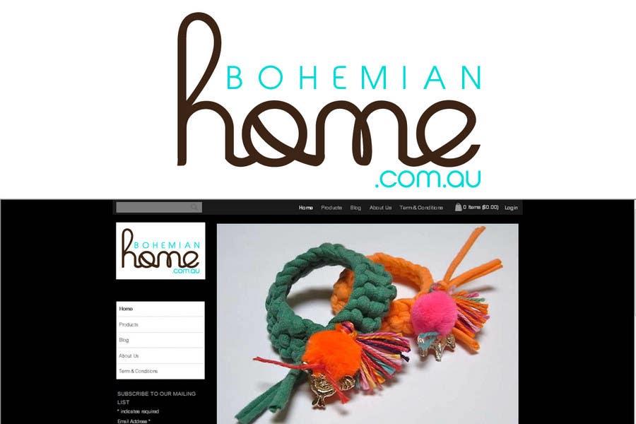 Contest Entry #                                        173                                      for                                         LOGO design for www.bohemianhome.com.au