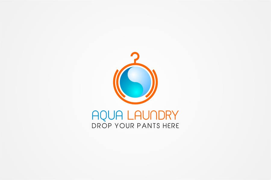 Contest Entry #                                        10                                      for                                         Design a Logo for AQUA LAUNDRY & DRY CLEANING